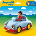 Playmobil 1.2.3. coche descapotable.