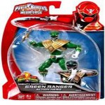 Figuras de accion Power rangers super megaforce verde con dorado